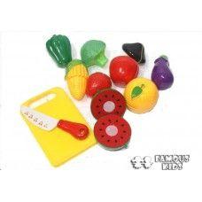 Legume din plastic - set de taiat