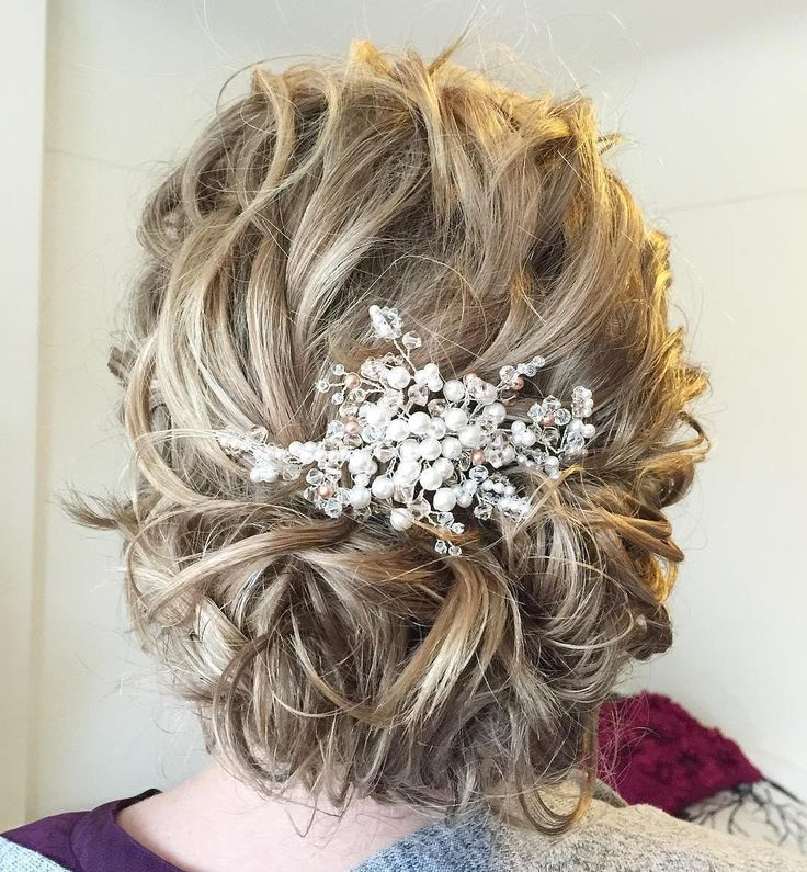 17 Best Ideas About Messy Wedding Hair On Pinterest: 17 Best Ideas About Curly Medium Hair On Pinterest