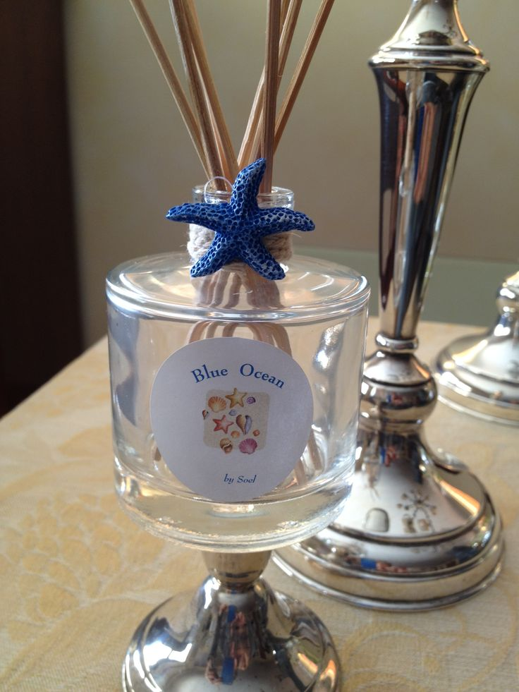 Summer reed diffusers by Soel. Blue Ocean