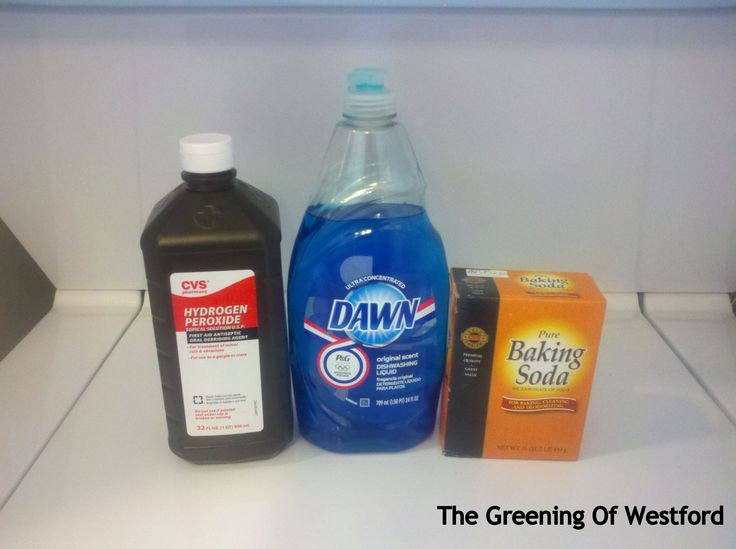 Natural stain remover that works on all stubborn stains no matter how old they are. Only needs 3 common ingredients.