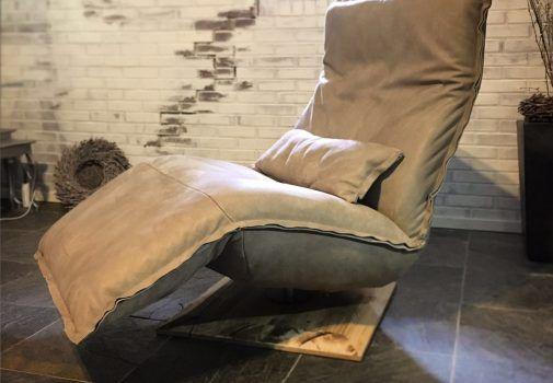 Relax fauteuil en lounge chair Indi met elektrische relaxfunctie