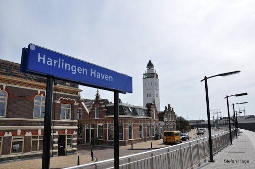Treinstation Harlingen Haven in Harlingen