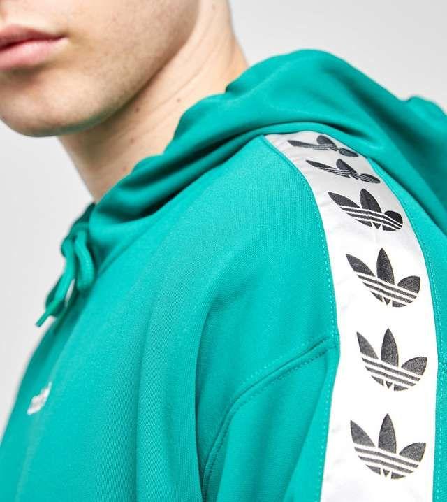 premium selection 9ab9e aebf9 adidas Originals Overhead Tape Hoody - size  Exclusive