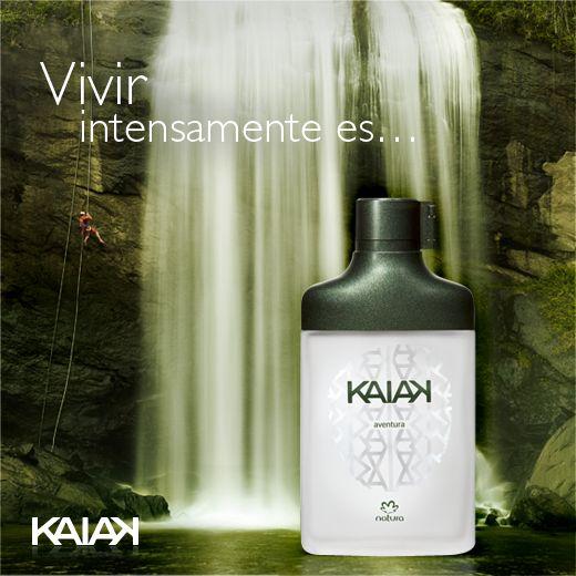 Perfume masculino #KAIAK AVENTURA de #Natura.