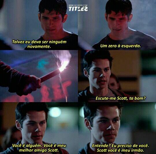 Trechos de séries // Teen Wolf // Stiles e Scott