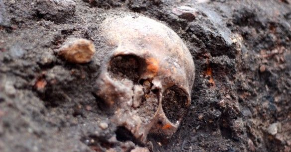 "3000 BEDLAM SKELETONS ARE BEING MOVED! Nothing seems to stand in the way of progress these days, but ghosts can sometimes slow it down. That may happen in London as the construction of a new Liverpool Street rail station awaits the excavation of an estimated 3,000 skeletons buried between 1569 and about 1738 in the cemetery of the Bethlem Royal Hospital – a psychiatric hospital whose treatment of patients was so horrible, its name is the origin of the word ""bedlam."" Will the ghosts of…"