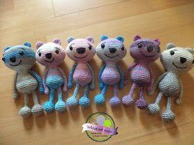 Crochet teddy bears  Szydełkowe misie