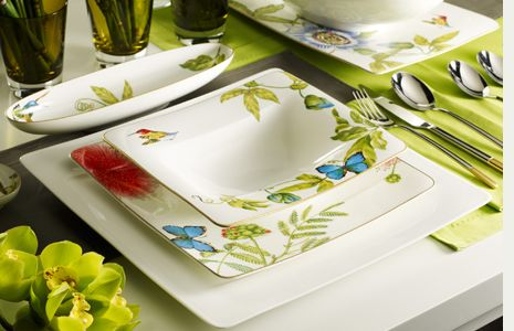 Villeroy and Boch Amazonia //.chinaroyale.com/Merchant4/ & 12 best Villeroy and Boch Dinnerware images on Pinterest ...