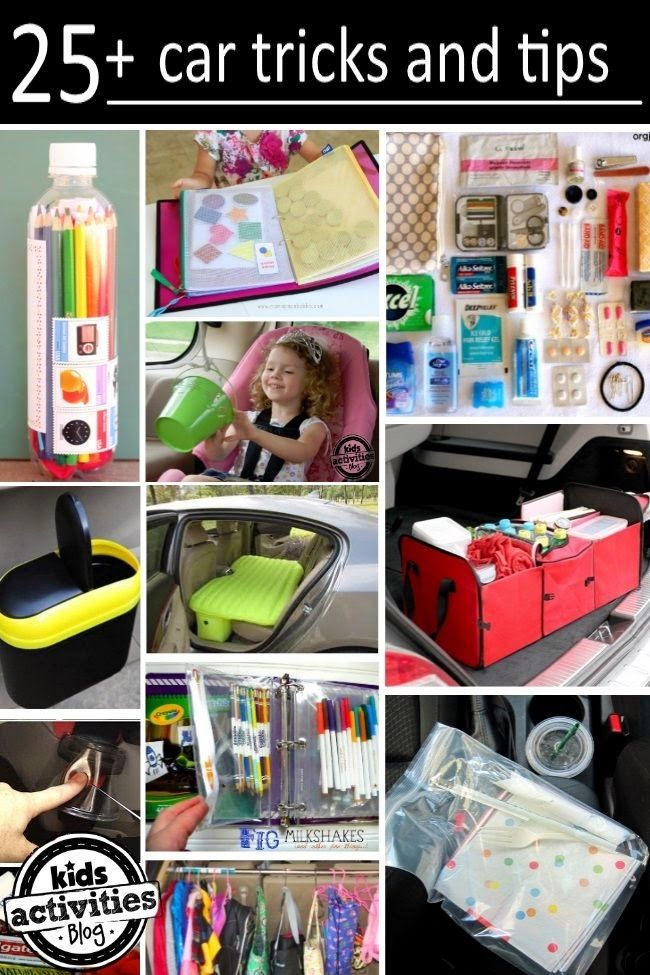 Helping Kids Grow Up: 25 Car Tricks And Tips For Busy Families