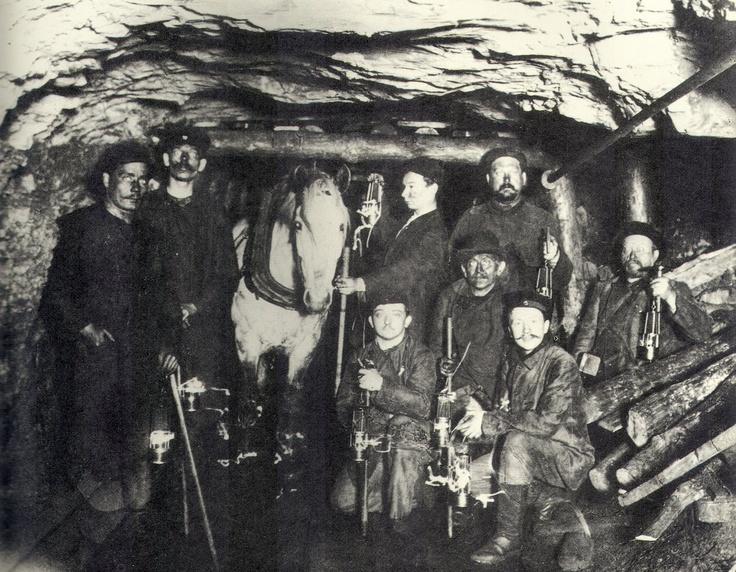Irish coal mining songs west