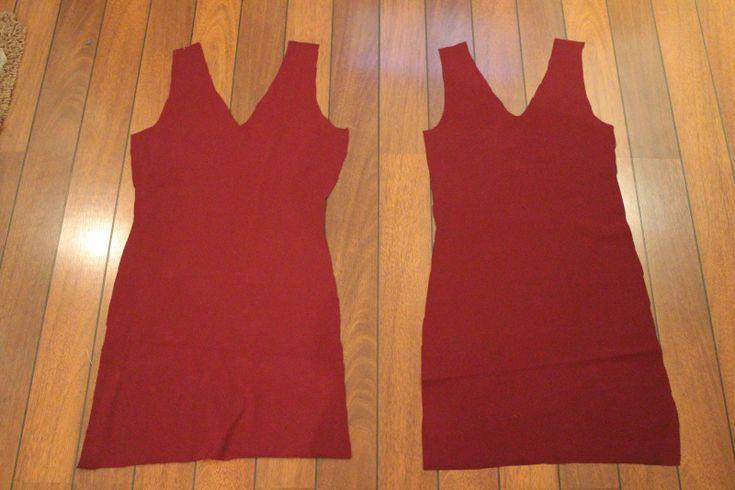 Fremgangsmåte for enkel kjole (SY DET SELV)