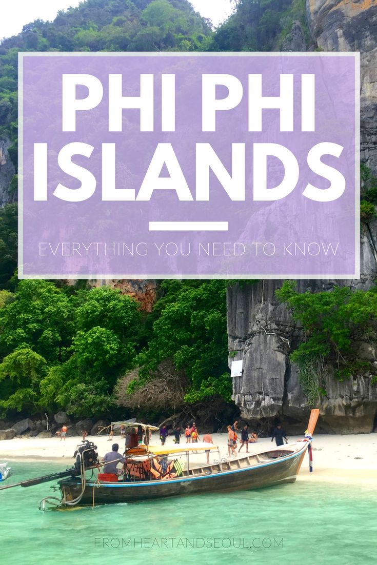 If you're in Thailand, you can't pass up the Phi Phi Islands along the southern tip. Even if you have limited time, head out from Phuket or Krabi and spend your day snorkeling and boating in the Andaman Sea. Click here for a full itinerary and everything you need to know about Phi Phi island hopping!