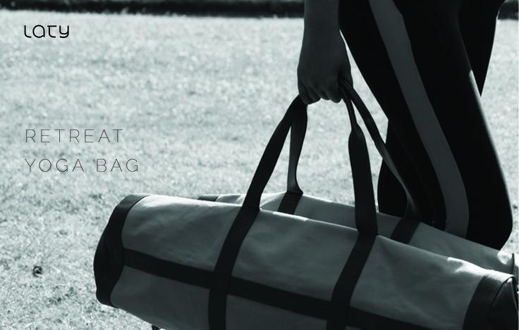Laty Retreat Bag to Win on Facebook Laty Page -  September Contest #retreatbag #bag #yogabag #travelbag #contest
