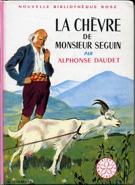 https://flic.kr/p/ciCFUj | La Chevre de M. SEGUIN, by Alphonse DAUDET | HACHETTE Nouvelle Bibliothèque Rose n° 126 Première de couverture