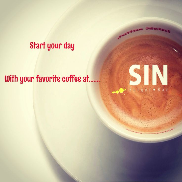 Start yor day with your favorite coffee at SIN burger bar!!!  #sinburgerbar #startyourday #juliusmeinl #instacoffee #faliro #coffee #like4like #bestoftheday #goodmorning