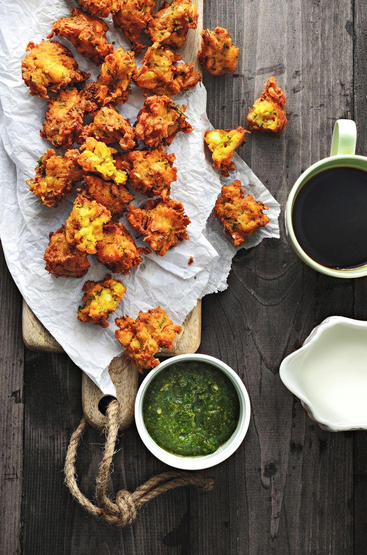 Corn and Paneer Pakoda Recipe