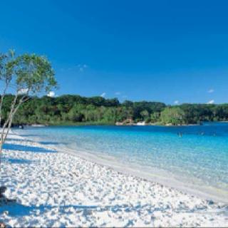 My fave place in Australia - Lake Mackenzie- Fraser Island