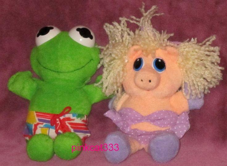 Muppet Treasure Island Mcdonalds Toys In Water