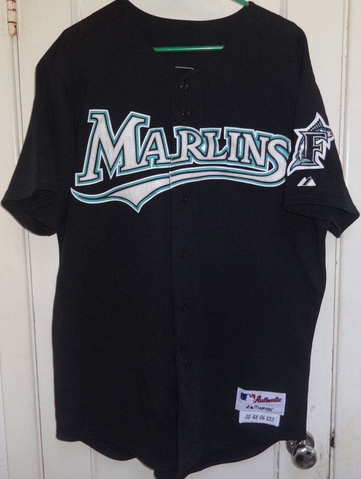 2006 Miami Florida Marlins MATT TREANOR Game Used Worn Signed Knit Jersey COA