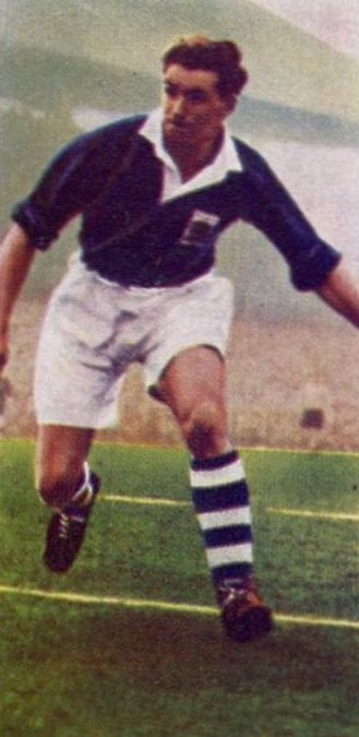 Eddy Brown of Birmingham City in 1956.