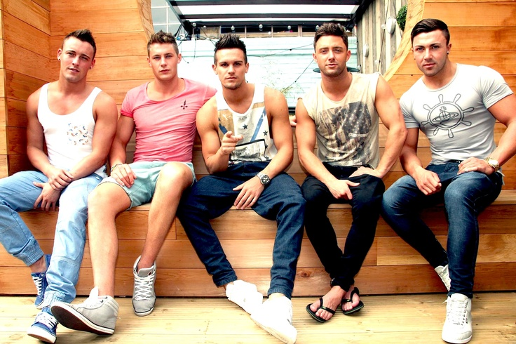 Geordie Shore lads group pic