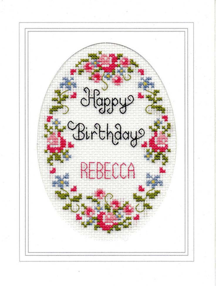 Happy+Birthday+cross+stitch+card+kit
