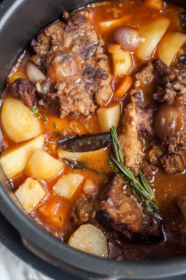Pressure Cooker Oxtail Stew