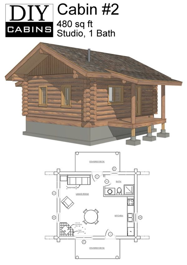Cabin 2 600 850 pixels cabins pinterest for 600 sq ft cabin kits