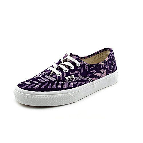 UA Authentic, Baskets Basses Femme, Multicolore (Tropical Leaves), 34.5 EUVans