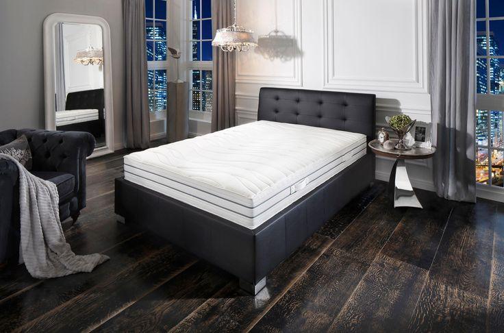 Komfortschaummatratze, »Prestige De Luxe 23 S - Premium-Natur«, Schlafgut, 23 cm hoch, Raumgewicht: 30  90x190 cm