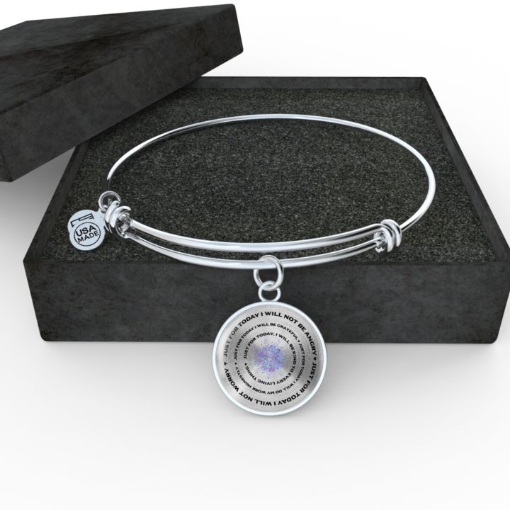 Inspirational Gift, Just for Today Reiki Gift, 5 Principles of Reiki Gift Engrave your personal message on the back.