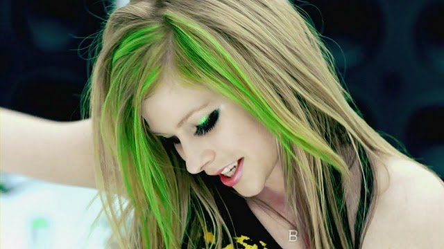 Green Hair love the color