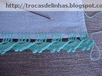 Trocas de Linhas: BORDADO DESFIADO- COM PASSO A PASSO
