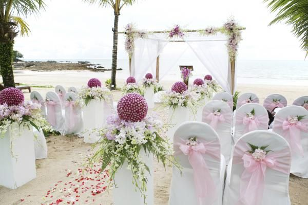 How to Organize a Wedding on the Beach #wedding #beach #decor #ceremony