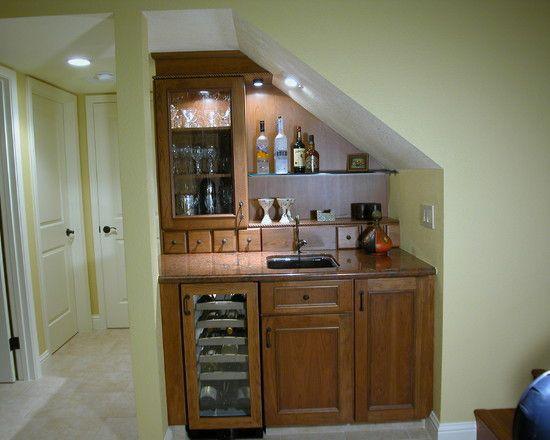 Best Bar Under Stairs Basement Bar Pinterest 400 x 300