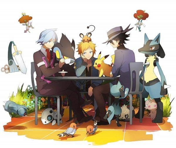 Pokemon Steven And Riley Honedge, Floette, Beld...