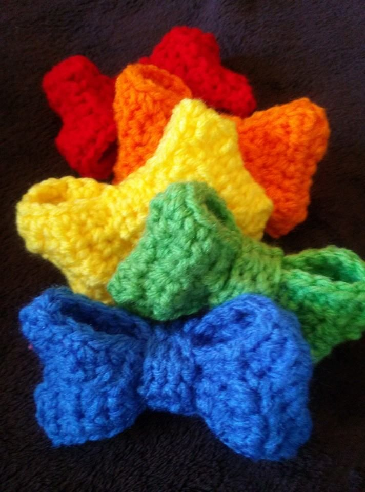 Boutique Bow - free crochet pattern