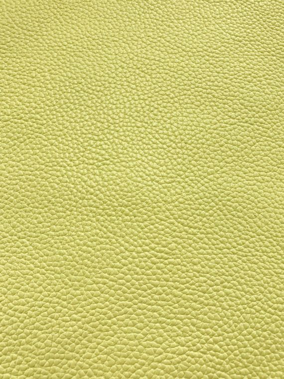 Pastel Yellow Leatherette Sheet A4 8X11 or A5 Size Pale Yellow