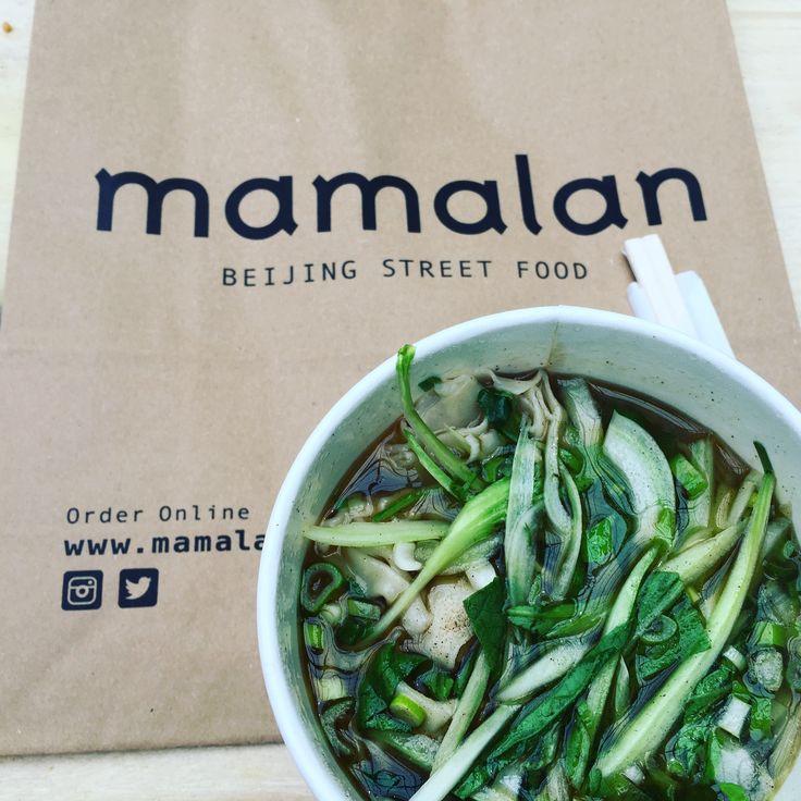 Wonton noodle soup - Mamalan, Croydon Boxpark