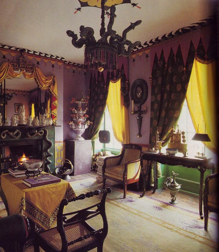Completely OTT Room Romany Soup Sumptuous Dwellings