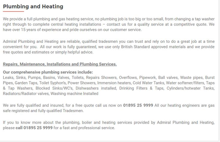 We are fully qualified and insured, for a free quote call us now on 01895 25 9999 All our heating engineers are gas safe registered and fully qualified Tradesmen.#Admiral plumbing and heating, #Plumbers West London #Plumbers UB10 #Plumbing and heating Hillingdon #Boiler servicing west London #Central Heating West London #Plumbers Ickenham Hillingdon #Plumbers near me UB10 #Heating Services Hillingdon #Plumbers Uxbridge #Plumbing and heating Uxbridge #boiler & plumbing specialists