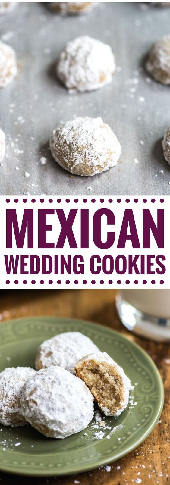 Mexican Wedding Cookies Polvorones
