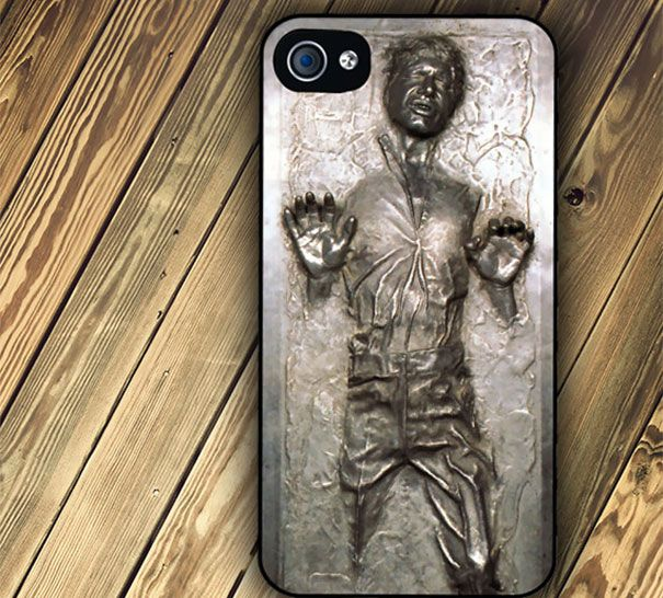 Star Wars Han Solo Frozen In Carbonite Phone Case