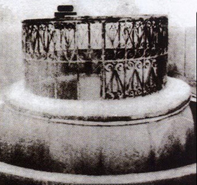 بئر زمزم، مكة، الحجاز The well of the Zamzam Holy Water, Makkah, Hejaz