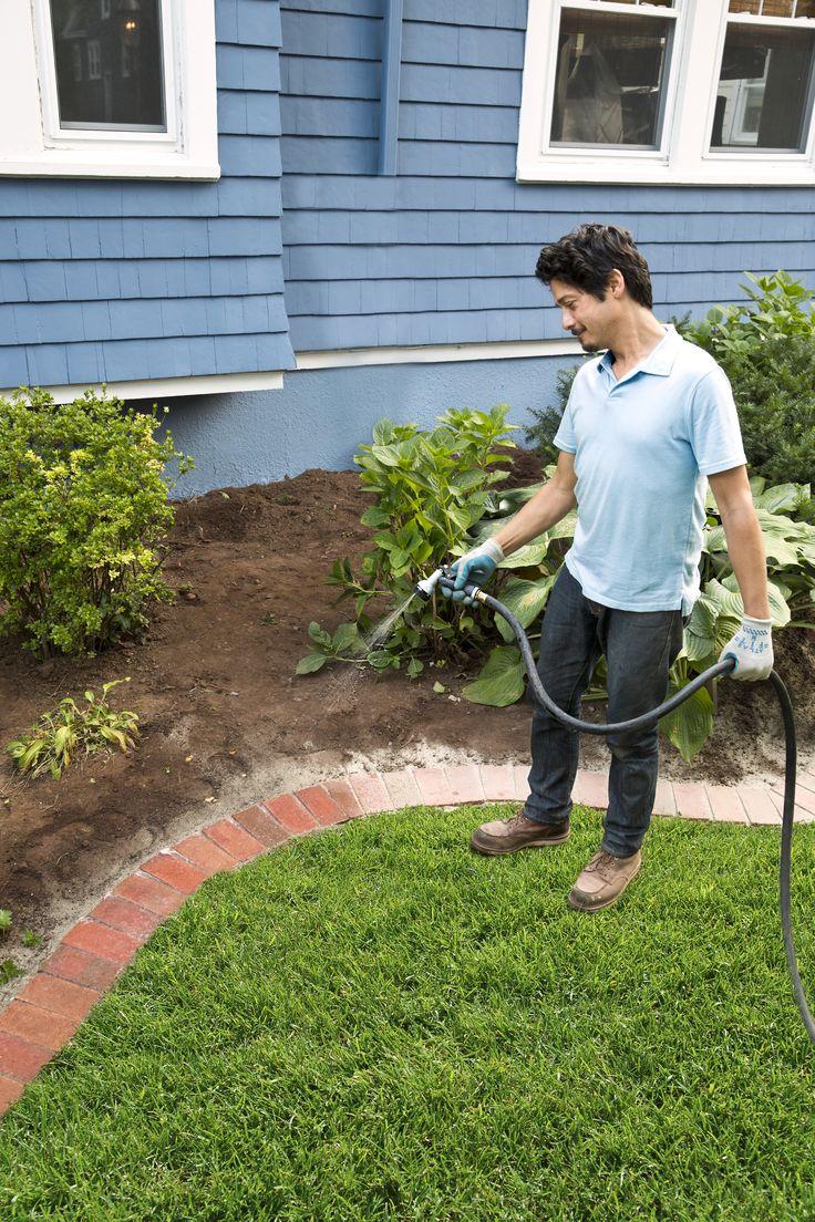 How to Edge a Garden Bed With Brick Garden Garden