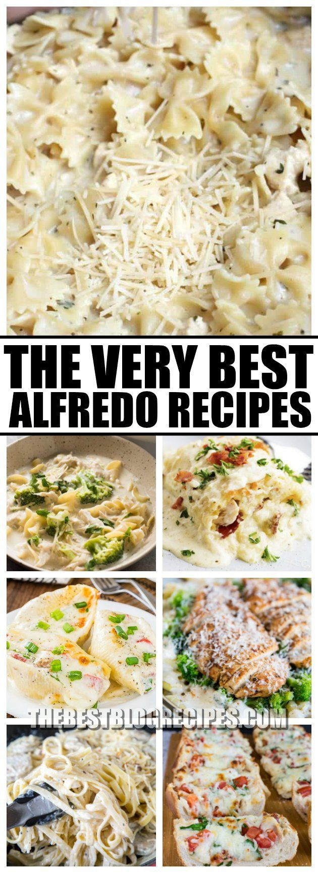 For easy, delicious creamy dinners, you need The Best Alfredo Recipes! These Alfredo dishes have to die for flavor and are incredibly easy to make. We know they will become your family's new favorites!