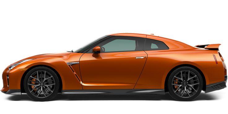 Photo of the Nissan GT-R Premium sports car.