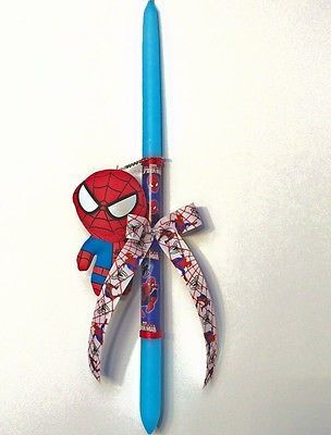 Easter candles,SPIDERMAN Easter candles