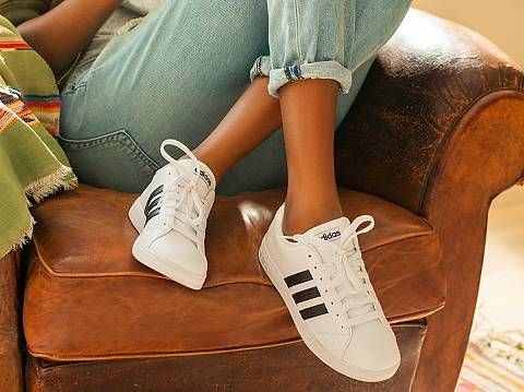 adidas neo baseline noir girl sneakerwholesale