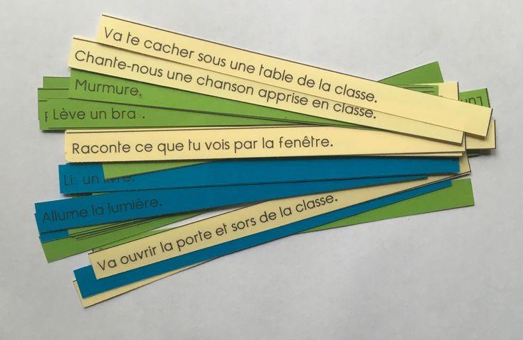 C'est l'un des ateliers pensés par Maria Montessori pour permettre aux enfants de s'entrainer à lire, que je trouve très intéressant et efficace. Dès que l'enfant commence à…